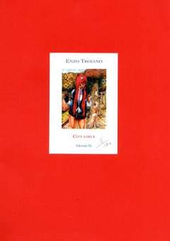 Copertina PORTFOLIO TROIANO CITY GIRLS n. - CITY GIRLS - (Contiene Disegno Originale), EDIZIONI DI