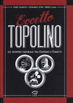 Copertina L'ARTE DELLE NUVOLE n.1 - ECCETTO TOPOLINO, EDIZIONI NPE
