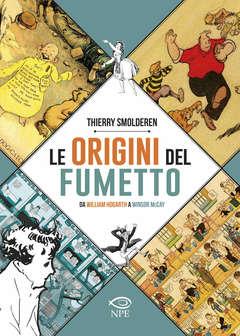 Copertina ORIGINI DEL FUMETTO Ed. Bross. n. - LE ORIGINI DEL FUMETTO, EDIZIONI NPE