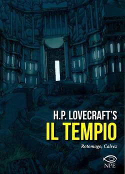 Copertina TEMPIO n. - H.P. LOVECRAFT - IL TEMPIO, EDIZIONI NPE