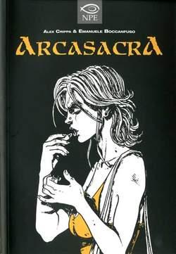 Copertina ZZZ ARCHIVI n.8 - ARCASACRA, EDIZIONI NPE