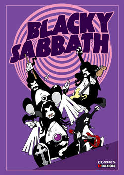 Copertina BLACKY SABBATH n. - BLACKY SABBATH, EF EDIZIONI