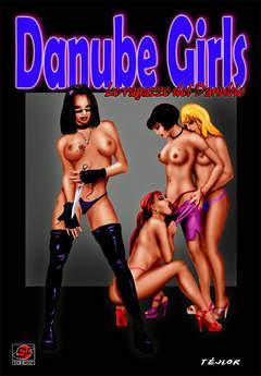 Copertina DANUBE GIRLS n. - LE RAGAZZE DEL DANUBIO, EF EDIZIONI
