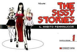 Copertina SISSY STORIES n.1 - IL MARITO E' FEMMINUCCIA, EF EDIZIONI