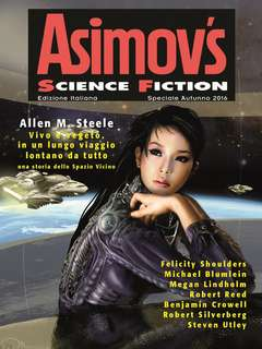 Copertina ASIMOV'S SCIENCE FICTION n. - SUPPLEMENTO A FANTASY & SCIENCE FICTION 16, ELARA S.R.L.