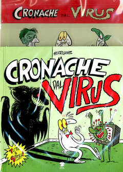 Copertina CRONACHE DAL VIRUS Variant n. - CRONACHE DAL VIRUS - Edizione Variant, ERIS EDIZIONI