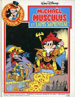 "Copertina DISNEY IN LINGUA LATINA n.2 - Míchaël Músculus et ""Lapis sapientae"", EUROPEAN LANGUAGE INSTITUTE"