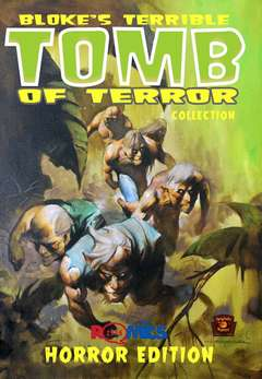 Copertina BLOKE'S TERRIBLE...HORROR Ed. n. - BLOKE'S TERRIBLE TOMB OF TERROR COLLECTION: HORROR, EUS EDIZIONI