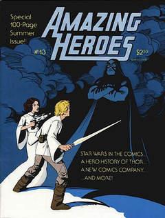 Copertina AMAZING HEROES S203 n.13 - AMAZING HEROES              13, FANTAGRAPHICS