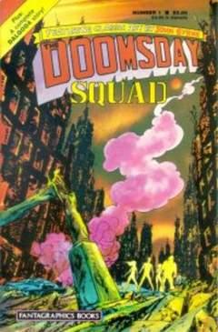 Copertina DOOMSDAY SQUAD M7 n.1 - Doomsday: Minus Two, FANTAGRAPHICS
