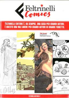 Copertina CATALOGO FELTRINELLI Omaggio n.1 - CATALOGO FELTRINELLI COMICS, FELTRINELLI COMICS