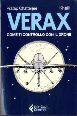 Copertina VERAX n. - COME TI CONTROLLO CON IL DRONE, FELTRINELLI COMICS