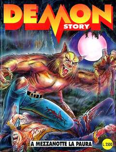 Copertina DEMON STORY n.1 - DEMON STORY                  1, FENIX SRL