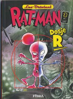 Copertina RAT-MAN IN CROATO BROSSURATO n.3 - DOSJE R, FIBRA NAKLADA