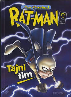 Copertina RAT-MAN IN CROATO BROSSURATO n.2 - TAJNI TIM, FIBRA NAKLADA