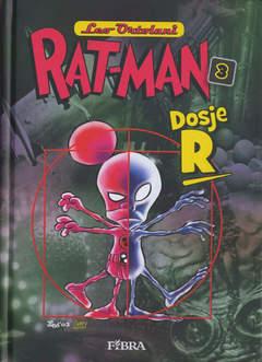 Copertina RAT-MAN IN CROATO CARTONATO n.3 - DOSJE R, FIBRA NAKLADA