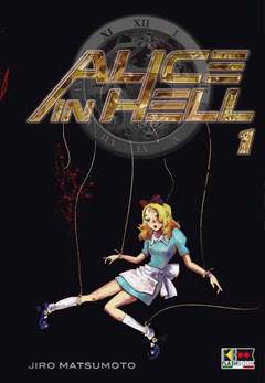 Copertina ALICE IN HELL (m6) n.1 - ALICE IN HELL, FLASHBOOK