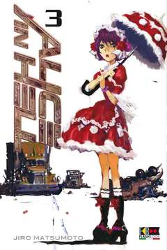 Copertina ALICE IN HELL (m6) n.3 - ALICE IN HELL, FLASHBOOK