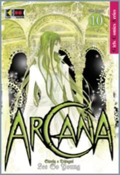Copertina ARCANA n.10 - ARCANA, FLASHBOOK