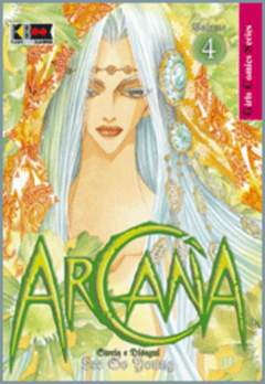 Copertina ARCANA n.4 - ARCANA                       4, FLASHBOOK