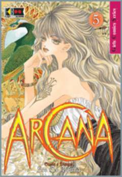 Copertina ARCANA n.5 - ARCANA                       5, FLASHBOOK