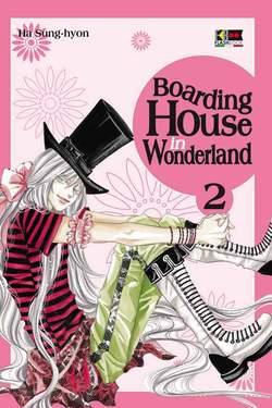 Copertina BOARDING HOUSE IN WONDERLAND n.2 - BOARDING HOUSE IN WONDERLAND, FLASHBOOK