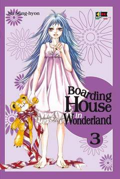 Copertina BOARDING HOUSE IN WONDERLAND n.3 - BOARDING HOUSE IN WONDERLAND, FLASHBOOK