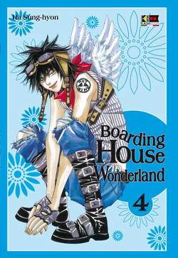 Copertina BOARDING HOUSE IN WONDERLAND n.4 - BOARDING HOUSE IN WONDERLAND, FLASHBOOK