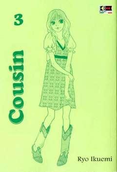 Copertina COUSIN (m3) n.3 - COUSIN, FLASHBOOK