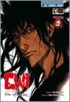 Copertina GWI THE SPECTRE n.5 - GWI THE SPECTRE , FLASHBOOK