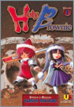 Copertina HOLY BROWNIE n.1 - HOLY BROWNIE                 1, FLASHBOOK