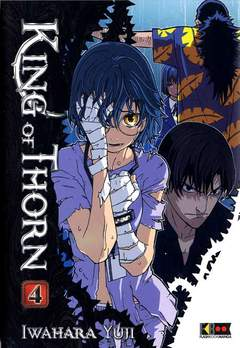 Copertina KING OF THORN (m6) n.4 - KING OF THORN, FLASHBOOK