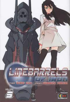 Copertina LINEBARRELS OF IRON n.5 - LINEBARRELS OF IRON, FLASHBOOK