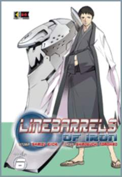 Copertina LINEBARRELS OF IRON n.6 - LINEBARRELS OF IRON, FLASHBOOK