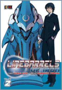 Copertina LINEBARRELS OF IRON n.2 - LINEBARRELS, FLASHBOOK