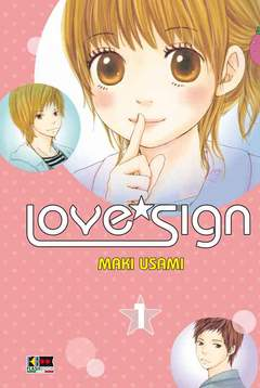 Copertina LOVE SIGN (m5) n.1 - LOVE SIGN, FLASHBOOK