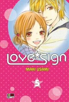Copertina LOVE SIGN (m5) n.5 - LOVE SIGN, FLASHBOOK
