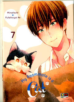 Copertina MY ROOMMATE IS A CAT n.7 - MY ROOMMATE IS A CAT, FLASHBOOK