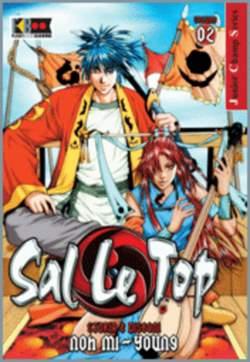 Copertina SAL LE TOP n.2 - SAL LE TOP (DI 11)           2, FLASHBOOK