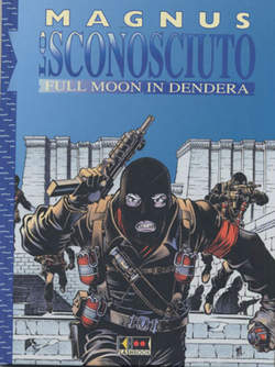 Copertina SCONOSCIUTO FULL MOON IN DENDE n.0 - FULL MOON IN DENDERA, FLASHBOOK