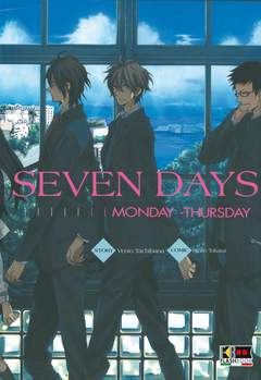 Copertina SEVEN DAYS (m2) n.1 - (MONDAY-THURSDAY), FLASHBOOK