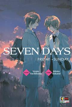 Copertina SEVEN DAYS (m2) n.2 - (FRIDAY-SUNDAY), FLASHBOOK