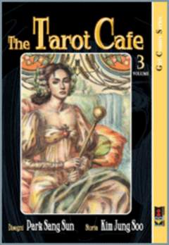 Copertina TAROT CAFE' n.3 - TAROT CAFE'                  3, FLASHBOOK
