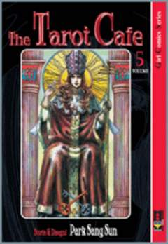 Copertina TAROT CAFE' n.5 - TAROT CAFE', FLASHBOOK