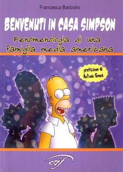 Copertina BENVENUTI IN CASA SIMPSON n. - BENVENUTI IN CASA SIMPSON, FOGLIO LETTERARIO