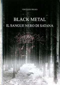 Copertina BLACK METAL n. - IL SANGUE NERO DI SATANA, FOGLIO LETTERARIO