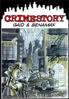 Copertina CRIME STORY n.1 - CRIME STORY, FOGLIO LETTERARIO