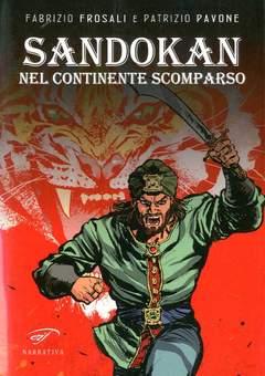 Copertina SANDOKAN NEL CONTINENTE... n. - SANDOKAN NEL CONTINENTE SCOMPARSO, FOGLIO LETTERARIO