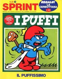 Copertina ALBI SPRINT n.11 - 1971-PUFFISSIMO, FRATELLI CRESPI