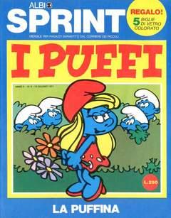 Copertina ALBI SPRINT n.13 - 1971-LA PUFFINA, FRATELLI CRESPI